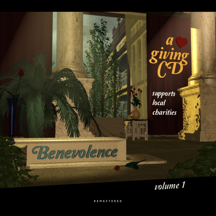 Album cover for Benevolence by Floyd Kelly.
