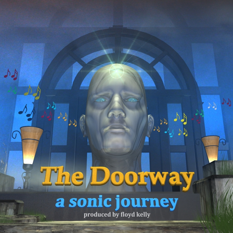 Album Cover for The Doorway by Floyd Kelly.