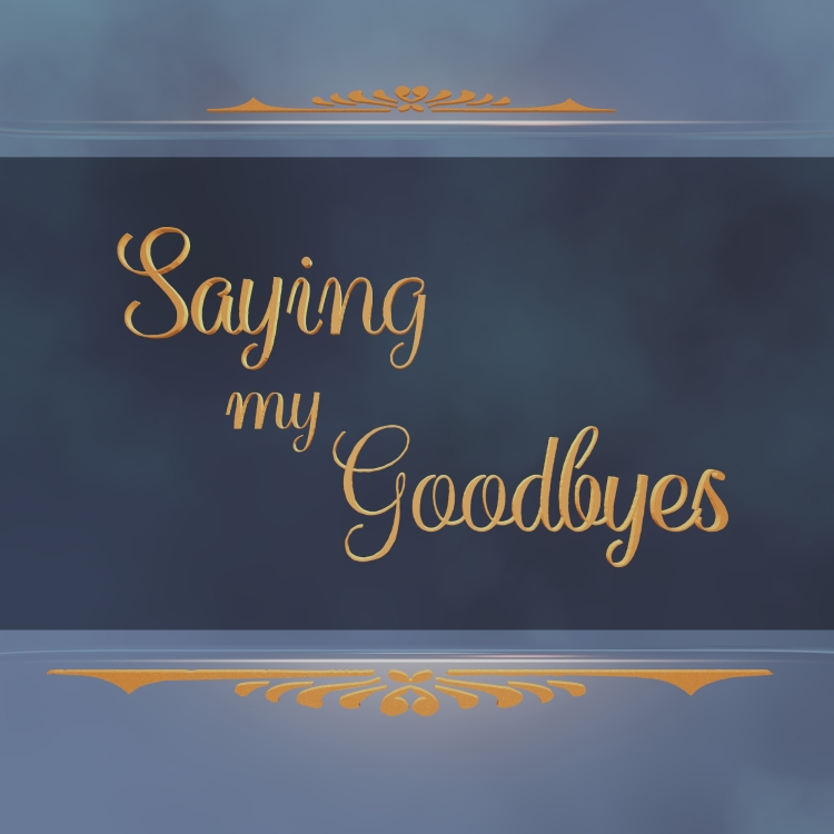 Album Cover for Saying My Goodbyes by Floyd Kelly.